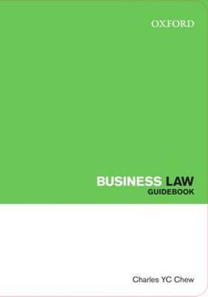 Business Law : Law Guidebook Series - Charles Chew
