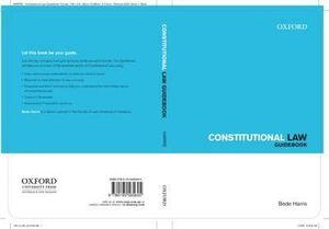 Constitutional Law Guidebook : Law Guidebook Series - Bede Harris