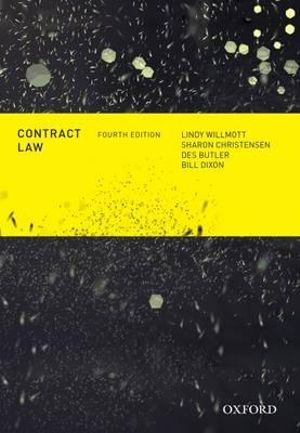Contract Law : 4th Edition - Lindy Willmott