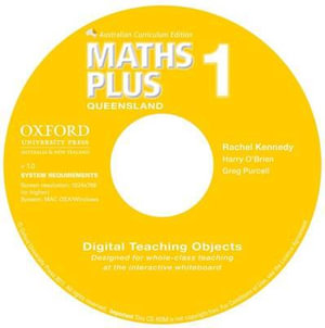 Maths Plus Queensland Australian Curriculum Interactive Teaching CD-ROM Year 1 : Maths Plus - Greg Purcell