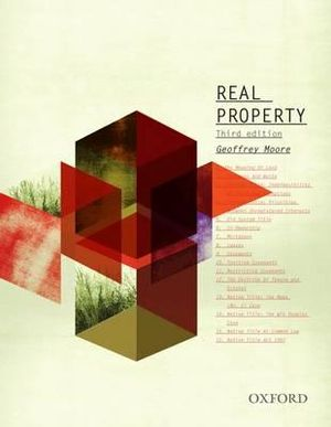 Real Property : 3rd Edition - Geoffrey Moore