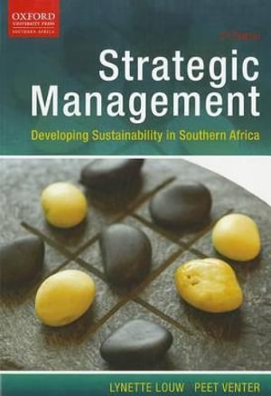 Booktopia - Strategic Management, Developing Sustainability in .
