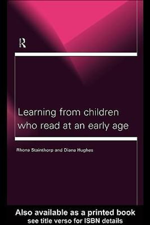 Learning from Children Who Read at an Early Age - Diana Hughes