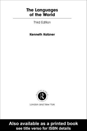 The Languages of the World - Kenneth Katzner