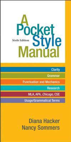 A Pocket Style Manual : 6th Edition - Diana Hacker