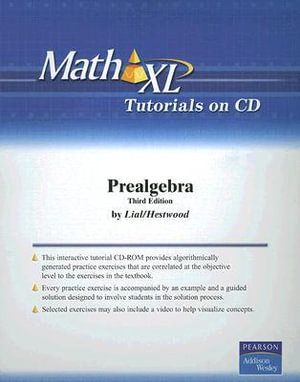 MathXL Tutorials on CD for Prealgebra : Math XL - AW Media