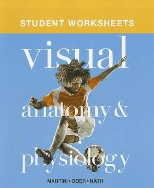 booktopia student worksheets for visual anatomy