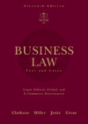 "business law review case How to brief a case using the ""irac"" method when briefing a case,  a business's street  there may be more than one relevant rule of law to a case:."