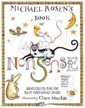 Michael Rosen's Book of Nonsense : Poetry Picture - Michael Rosen