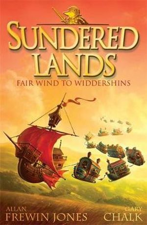 Fair Wind to Widdershins : Sundered Lands : Book 2 - Allan Frewin Jones