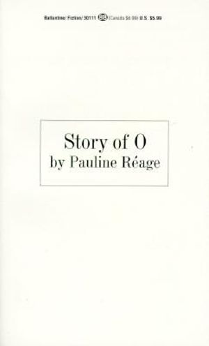 Story of O - Pauline Reage