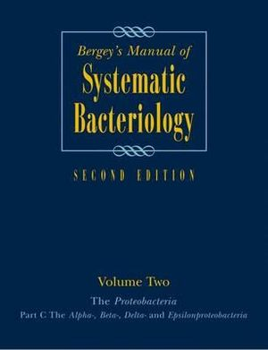 Booktopia - Bergey's Manual of Systematic Bacteriology