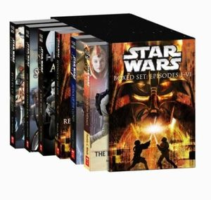 booktopia star wars boxed set episodes ivi by various