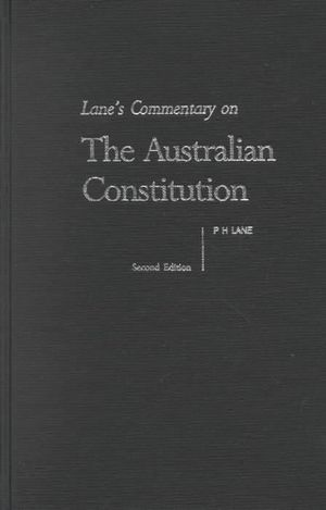 a study on the australian constitution Australian constitutional law of the commonwealth of australia constitution act1 (hereafter referred to as the common wealth) must be established.