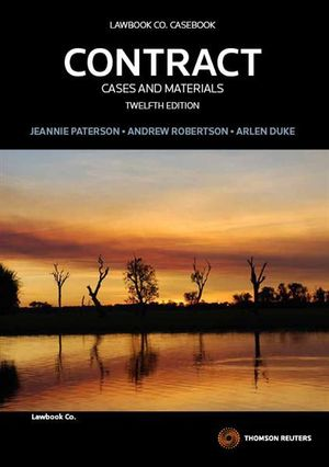 Contract: Cases and Materials : 12th Edition - Jeannie Paterson