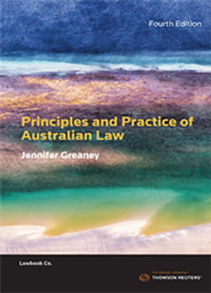 Principles and Practice of Australian Law : 3rd Edition - Mrs. Ellis