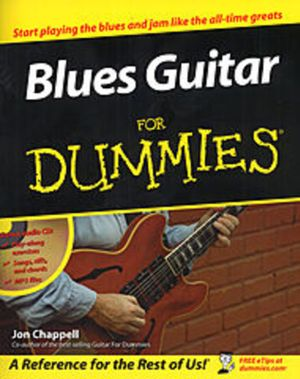 Blues Guitar For Dummies With CDROM : For Dummies (Lifestyles Paperback) - Jon Chappell