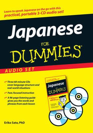 Japanese For Dummies Audio Set - Eriko Sato