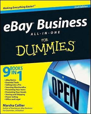 eBay Business All-In-One For Dummies, 2nd Edition : For Dummies (Lifestyles Paperback) - Marsha Collier