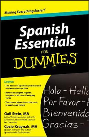 Spanish Essentials For Dummies : For Dummies - Gail Stein