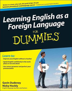 Learning English As A Foreign Language For Dummies - Gavin Dudeney
