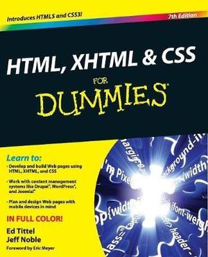 HTML, XHTML & CSS for Dummies : 7th Edition - Ed Tittel
