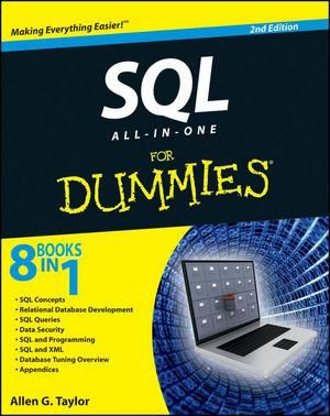 SQL All-In-One for Dummies : 2nd Edition - Allen G. Taylor