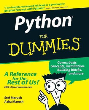 Python For Dummies - Stef Maruch