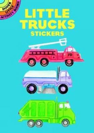 Little Trucks Stickers - Cathy Beylon
