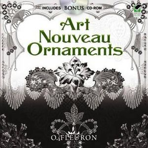 Art Nouveau Ornaments :  With CD-ROM - O. Fleuron