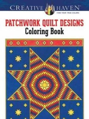 Creative Haven Patchwork Quilt Designs Coloring Book - Carol Schmidt