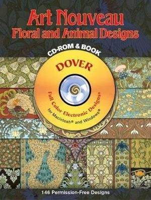 Art-Nouveau Floral and Animal : Dover Electronic Clip Art - M. P. Verneuil