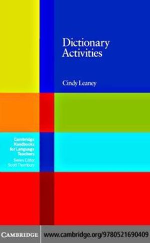 Dictionary Activities - Cindy Leaney