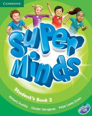 Super Minds Level 2 Student's Book with DVD-ROM - Herbert Puchta