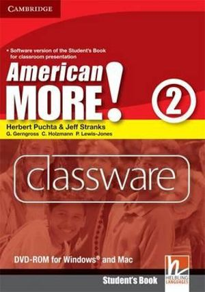 American More! Level 2 Classware DVD-ROM Herbert Puchta, Jeff Stranks, Gunter Gerngross and Christian Holzmann