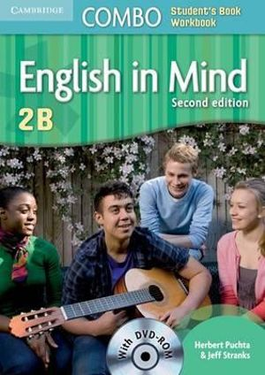 English in Mind Level 1 Combo B with DVD-ROM Herbert Puchta and Jeff Stranks