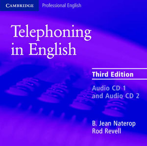 Telephoning in English Audio CD - B.Jean Naterop