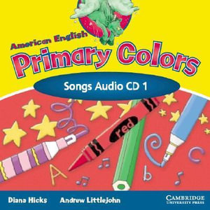 American English Primary Colors 1 Songs CD - Diana Hicks