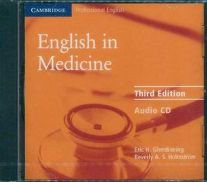 English in Medicine : Audio CD-ROM : Cambridge Professional English - Eric H. Glendinning