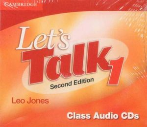 Let's Talk 1 : Class Audio CD : Second Edition  - Leo Jones