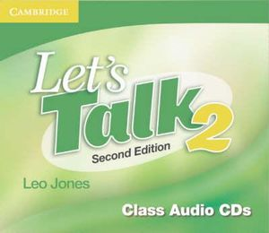 Let's Talk 2 : Class Audio CDs  : Second Edition - Leo Jones