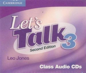 Let's Talk 3 : Class Audio CDs : Second Edition - Leo Jones