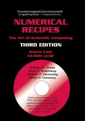 Numerical Recipes Source Code CD-ROM  : The Art of Scientific Computing - William H Press