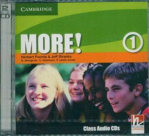More! Level 1 : Class Audio CDs - Herbert Puchta