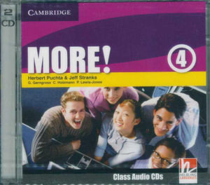More! Level 4  : Class Audio CDs  - Herbert Puchta