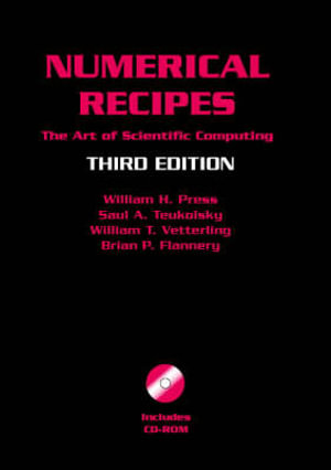 Numerical Recipes with Source Code CD-ROM : The Art of Scientific Computing - William H. Press