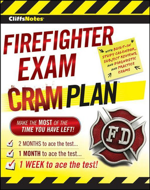 CliffsNotes Firefighter Exam Cram Plan - Inc. Northeast Editing