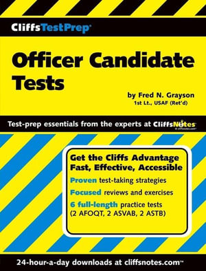 Cliffstestprep Officer Candidate Tests - Fred N. Grayson