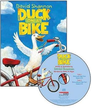 Duck on a Bike - Audio : Read Along Book & CD - David Shannon