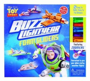 Disney Toy Story : Buzz Lightyear Foam Gliders : Klutz Series - Klutz